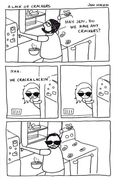 cracka lackin comic