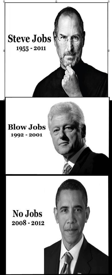 Steve jobs blow jobs no jobs