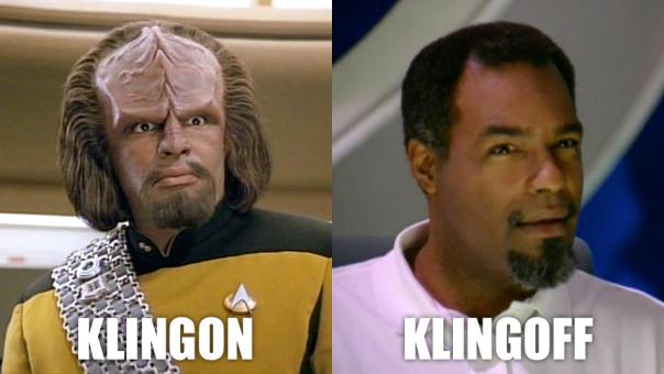 Klingon klingoff