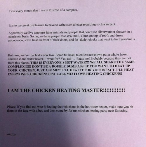chicken heating master