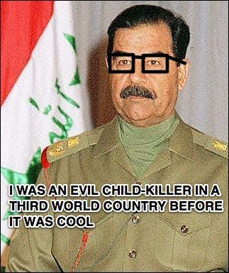 Hipster+Hussein.+Kony