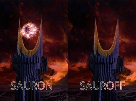 sauron sauroff
