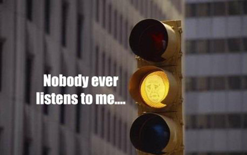 Okay yellow light