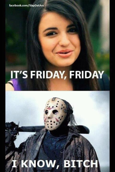 rebecca black and jason friday the 13