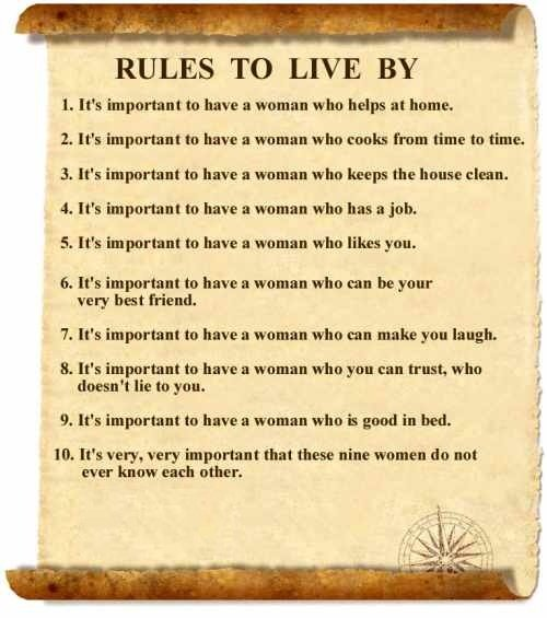 the golden rules to live by