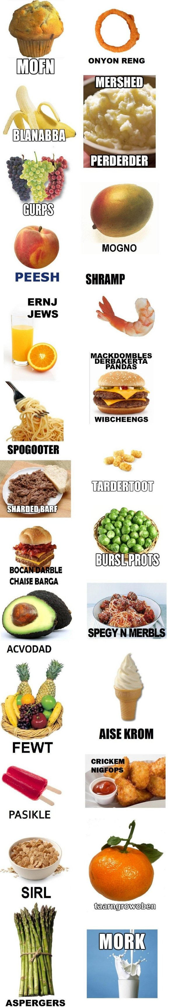 how ermahgerd mershed perderders berks girl pronounces things