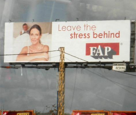 leave the stress behind fap