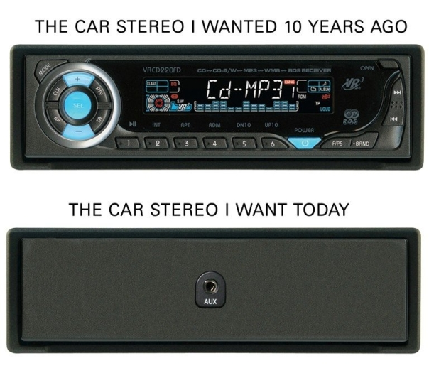 car stereos i wanted 10 years ago and now