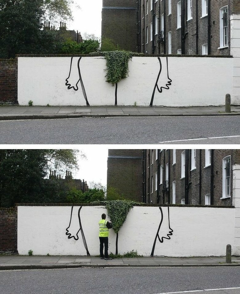 Just trimming the hedges...