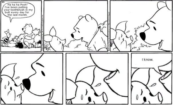 wtf you truth regular omg! lulz lul Lolz LOLWUT LOL life haha humor EPIC FUNNY ftgdw entertainment comic comedy blog Awesome all winnie the pooh piglet silly ol' tooth brush disney