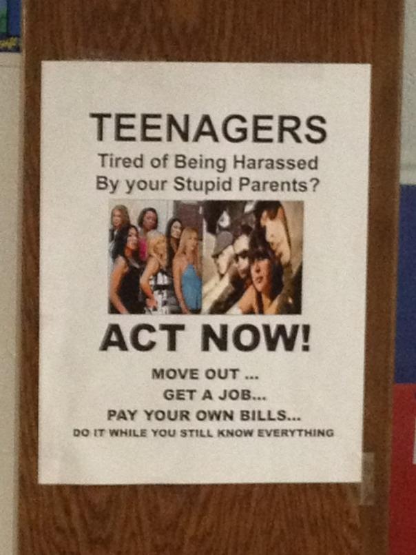 teenagers act now
