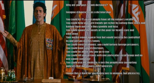 the dictator's view of america