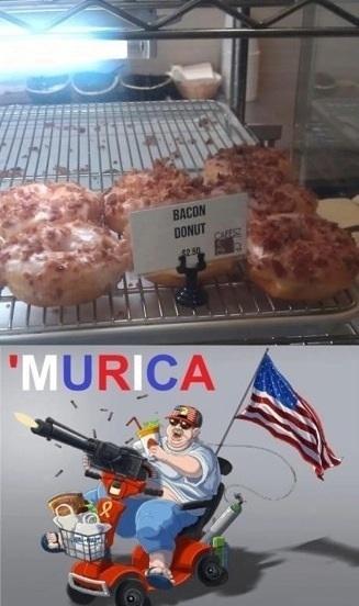 bacon donut murica