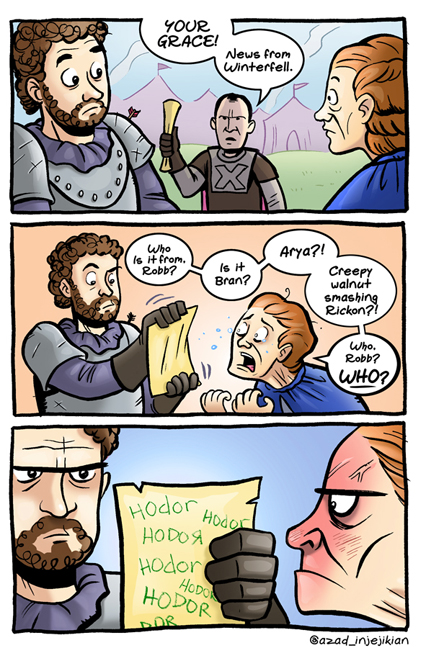 news from winterfell